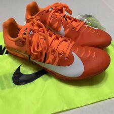 Nike Zoom Rival S Spikes Orange White 907564-800 Size 8