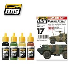Ammo of Mig - Modern French armed forces colors (4 jars x 17ml)