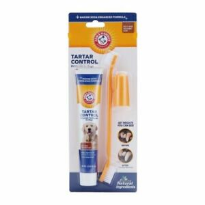 Arm & Hammer Tartar Control Dental Kit for Dogs. New in Package.