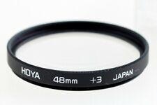 Hoya 48 mm +3 Nahlinse + 3 48mm Filter Close-Up Lens -- im Etui