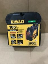 DeWalt DW088K Self Leveling Horizontal/Vertical Cross Line Laser Level Brand New