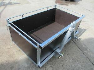 Heckcontainer Transportbehälter für Hydraulik und Gerätedreieck Kat 1-2-3 Neu