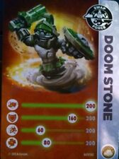 Doom Stone Skylanders Swap Force Stat Card Only!