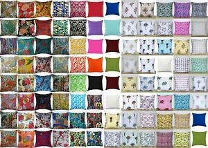Indian Cotton Cushion Cover Hand Block Floral Cotton Home Decor Cushion Cover UK