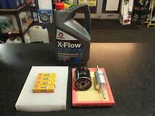 FORD FIESTA MK6/ FUSION SERVICE KIT OIL FUEL AIR CABIN FILTERS SPARK PLUGS XFLOW