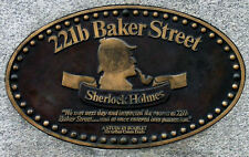 Incorniciato stampa - 221B BAKER STREET LONDRA SHERLOCK HOLMES indirizzo (PICTURE POSTER)
