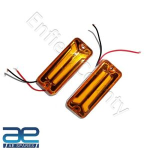 For Suzuki Samurai SJ410 SJ413 Front Or Rear Indicators LED Light Set of 2 New