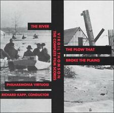 Virgil Thomson: The Complete Film Scores- The River / The Plow That Broke the Pl