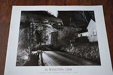 TRAIN ART PRINT - Seven-Mile Ford, VA 1957 by O Winston Link 24x30 Photo Poster