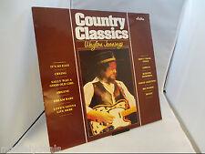 "Waylon Jennings - Country Classics (Astra Vinyl-LP Schallplatte Italy 1984) 12"""
