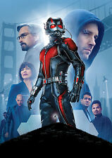 Ant Man Poster, Marvel Movie 2016, Quality, Large, FREE P+P - CHOOSE YOUR SIZE!