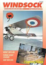 Windsock International V.15 N.6 Russian Naval Nieuport Albatros Fabric Phonix