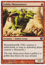 MTG 4x GOBLIN MOUNTAINEER - GOBLIN DI MONTAGNA - ALA