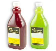 2 X 2L Paradise Slushie Slurpee Daiquiri Granita Syrup Mix Slush Machine Syrups