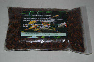 FMF Dried Silkworm Pupae For Koi Carp Fish Birds & Reptiles Approx  1500g Bag