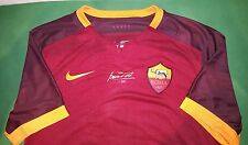 MAGLIA ROMA TOTTI SIGNED JERSEY NIKE AUTHENTIC ISSUE BOX AUTOGRAPH no MATCH WORN