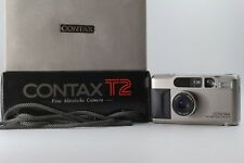 [NMint in Box] Contax T2 Sonnar 38mm F/2.8 Point & Shoot Film Camera Japan #256