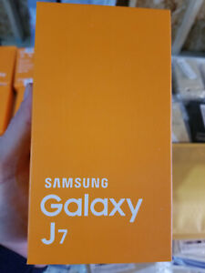 Brand New Factory Sealed Black Samsung Galaxy J7 Smartphone 16GB UNLOCKED