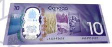 NEW 2017 CDC $10 Polymer CRISP UNC Canada 150 Commemorative Bill NO TAX !