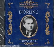 Jussi Bjorling: Prima Voce, Verdi, Puccini, Mascagni, Borodin, Meyerbeer... - CD
