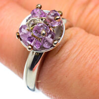 Amethyst 925 Sterling Silver Ring Size 7.25 Ana Co Jewelry R49721F