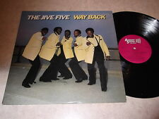 The Jive Five: Way Back LP