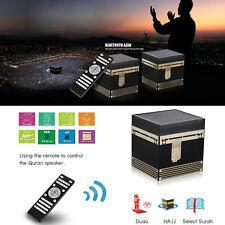 Kaaba shape Quran Speaker 8G FM TF Card Azan Muslim Gifts MP3 Player Islam