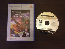 Star Wars Starfighter Play Station 2 PS2 PAL