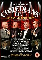 THE ORIGINAL COMEDIANS LIVE 40th ANNIVERSARY SHOW DVD.REGION 2 DVD.FREE UK P&P