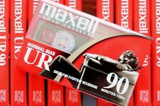 MAXELL UR 90 NORMAL POSITION TYPE I BLANK AUDIO CASSETTE TAPE