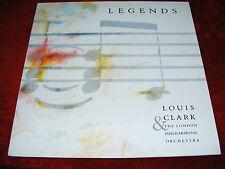 Louis  Clark   &  The  London  Philharmonic  1989   Legends  LP   Vinyl  Record