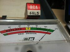 RCA Electron Tube 6AL5 New Old Stock Antique Radio Tested Set of 5 ~ Ships FREE!