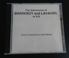 THE ADVENTURES OF SHARKBOY AND LAVAGIRL Movie JOHN DEBNEY Promo Preview Score CD