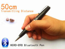 Bluetooth Pen With Spy earpiece-40-60cm Long Transmitting Distance Exam Test