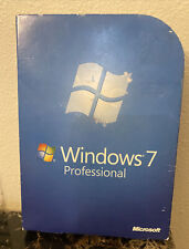 Microsoft Windows 7 Professional 32 & 64 Bit DVD's With Key