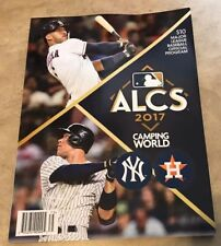 2017 ALCS American League Championship Program Astros Yankees NEW shipped in box