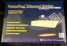 SEALED - Gigafast HomePlug Ethernet Bridge PE902-EBx - NEW