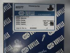 RUVILLE 65377 Wasserpumpe Opel Ascona, Corsa, Kadett, Vectra