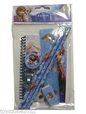 Disney FROZEN Stationary Set BLUE