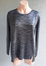 SALE ❤️WITCHERY Long Sleeve Tee T-Shirt Top Print Size XS FREE POSTAGE L681