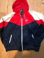 Details about Adidas ZNE Hoodie Maroon Winter Size S BNwT CY9902 Men's Jacket
