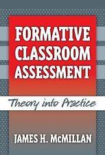 Formative Classroom Assessment, James H. McMillan, Good Book