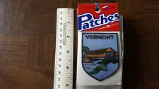 Vermont Covered Bridge Voyager Travel Souvenir Patch - Brand New - Free Shipping