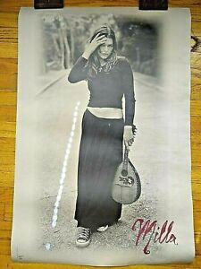 Milla Jovovich Poster 1994 18 yo ORIGINAL NM HUGE 24x30 MUSIC PROMO SE OTHR ITMS