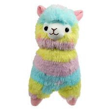 18CM Rainbow Cute Alpacasso Kawaii Alpaca Llama Arpakasso Soft Plush Toy Doll