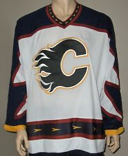 CALGARY FLAME Jersey Pullover Chandail hockey CCM XX LARGE ADULT NEW!