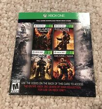 Gears of War 1, 2, 3, Judgment - Download 4 Games for XBox One