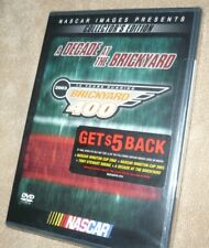 NASCAR A Decade at the BRICKYARD 400 NEW DVD Racing