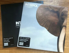 """Interpol - Mammoth Part1 & 2 7"""" Vinyl's Promo Copys Never used or Played"""