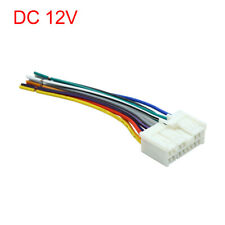 DC 12V Car 16 Pin  Male DVD Radio Wire Harness Adapter Connector for Hyundai